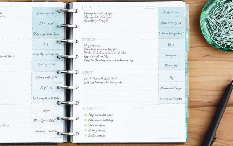 การเขียน planner